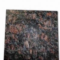 Quality Tan Brown Granite Slab Tile, Customized Sizes and Designs are Accepted wholesale