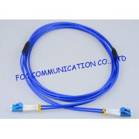 Quality High Resistance Fiber Optic Patch Cord Armored LC - LC Duplex G.657A wholesale
