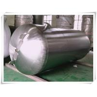 Quality Customized Color Horizontal Air Receiver Tanks Carbon Steel / Stainless Steel wholesale