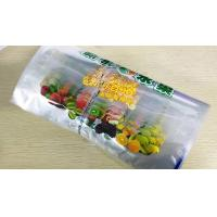 Vegetable stand up zipper Bags & pouches , Fruit And Vegetable Shopping Bags