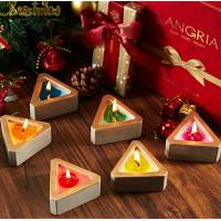 Cheap Colored Scented Jar Candle With Packaging Boxes Home Decoration Customized Logo for sale