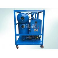 Quality SVP Transportable Transformer Oil Purifier Machine On Line Work Single Stage wholesale