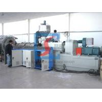 China Plate Sheet Conical Twin Screw Compounding Extruder With CE / ISO / BV on sale