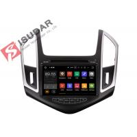 Quality Quad Core Double Din Bluetooth Car Stereo , Chevrolet Cruze GPS NavigationSplit Screem wholesale