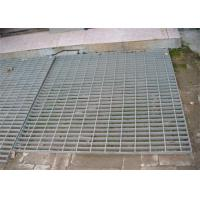 Quality Hot Dip Galvanized Steel Grating 300 - 1000mm Width 300 - 6000mm Length wholesale