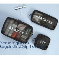 China Packing Cubes Travel Luggage Organizers with Toiletry Cosmetic Makeup Bag & Shoe Bag,organizer bag, Travel Makeup Pouch on sale