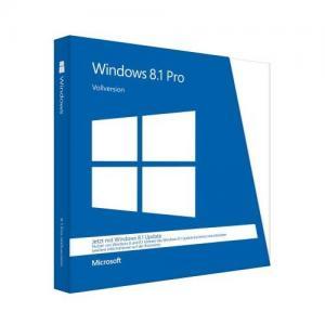 China Professional windows 8.1 pro 64 bit retail English International 1 Pack DVD Microsoft on sale