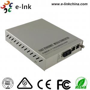 Quality Managed Gigabit Ethernet Fiber Media Converter 2- Port 10 / 100 / 1000Base-T to 1000 Base-X wholesale