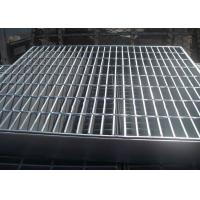 Quality Welded Bar Grating Heavy Duty Steel Grating Banding Untreated Surface wholesale
