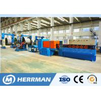 Buy cheap Aluminum Alloy Interlock Cable Armouring Machine For Cable Manufacturing Plant High Potency from wholesalers