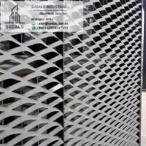 China SUDALU Curtain Wall Exterior Aluminum Facade Metal Screen Panel on sale
