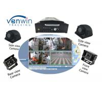 Quality 64GB SD Card 4CH 1080P AHD 3G 4G WIFI And GPS Mobile NVR For Bus / Truck / Taxi wholesale
