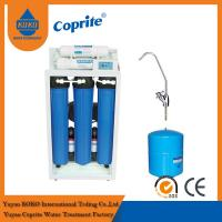 Quality 200 / 400 GPD Reverse Osmosis Water Filtration System / Triple Water Filter With 11G Steel Tank wholesale