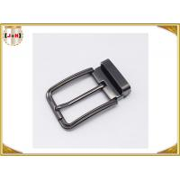 Quality Customized Reversible Metal Belt Buckle With Drum / Garment Accessory wholesale