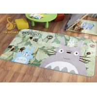 Quality Short Plush Digital 3D Printed Non Slip Area Rugs For Bedroom / Living Room wholesale