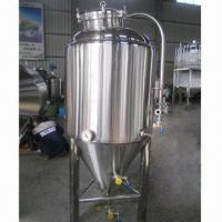 China 350L Conical Fermenter, Fully Welded Exterior on sale