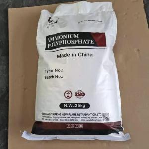 Quality Intumescent Paint APP Ammonium Polyphosphate Flame Retardant Additives wholesale