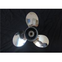 Quality 9 1/4x11-J Outboard Engine Propellers , Stainless Steel Props For Yamaha Outboards wholesale