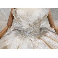 Cheap O - Neck Sleeveless Handmade Bridal Ball Gowns Special Dress For Wedding for sale