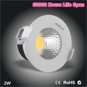China Mini size dia75*H50mm waterproof IP65 led downlight 3W Epistar COB downlight on sale