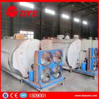Quality Customized Stainless Steel Milk Tank Dairy Chilly Equipment 3 Years Warranty wholesale