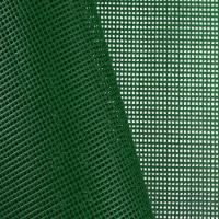 China Green 9x9 Vinyl Coated Mesh Fabric - by the Yard on sale