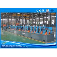 Quality Custom Size Pipe Making Machine , Stainless Steel Tube Mill For L Shape Pipe wholesale