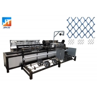 China Wire 100mm Fully Automatic Chain Link Fence Machine on sale