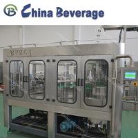 Quality 3 In 1 Water Bottle Filling Machine Pneumatic Lifting Full Automatic 24 Heads wholesale