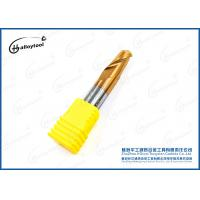 China Support Customized Carbide Dhf End Mill / Tungsten Carbide Ball Nose Cnc End Mill on sale