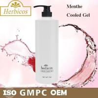 Quality 1000ml natural organic Menthe Cooled Skin Gel Cold Mask for keeping calm wholesale