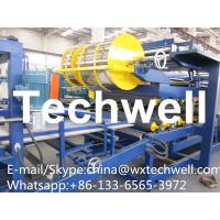 China 50-300mm Thickness Profile PU Foam Insulated Sandwich Panel Machine with 32 KW Total Power on sale