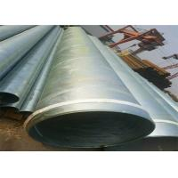 China ASTM A53 Galvanized Schedule 40 Pipe / Galvanised Square Tube With Hydraulic Testing Inspection on sale