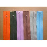Quality Heavy Duty Invisible Zipper For Jackets , Two Way Separating Zipper wholesale