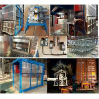 Cheap 115kg Tie - in Construction Material Lift High Performance, Customized Cage for sale