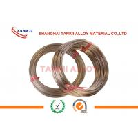 Quality CuMn12Ni4 Manganin Wire 6J13 / 6J12 / 6J8 For Precision Instrument wholesale