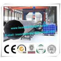 Buy cheap Street pole assembling machine for wind tower production line , Heavy light pipe welding machine product