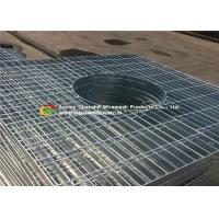 Quality Special Shape Galvanized Floor Grating  For Petroleum / Chemical Projects wholesale