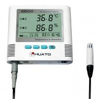 Quality LED Screen Temperature Humidity Data Logger , Smart Temperature Humidity Recorder wholesale