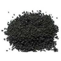 Quality Durable Black Colored Rubber Granules For Playground Abrasive Resistance wholesale