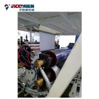 China Multi Layer SPC Flooring Making Machine , LVT Vinyl Plank Floor Production Line on sale