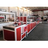 Quality Sound Insulation PVC Profile Production Line UPVC Solid Door Frame Making Machine wholesale