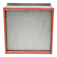Quality Pharmaceutics High Temperature Hepa Filters Stainless Steel Enclosing Frame wholesale