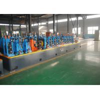 Quality ERW Carbon Steel Water Supply Pipe Tube Mill , Pipe Thickness 4.0 - 10.0mm wholesale