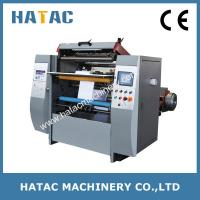 China CNC Lathe Receipt Paper Roll Rewinding and Slitting Machine on sale