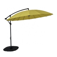 Quality 3m Height SGS Approval Free Standing Patio Umbrella Bright Color wholesale