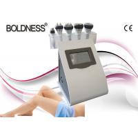 Quality Portable 5 IN 1 Cavitation Rf Vacuum Machine , Skin Tightening / Weight Loss Machine wholesale