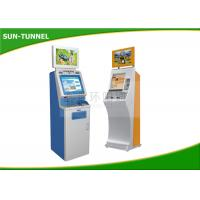 Buy cheap Food Ticket Vending Machine , Card Dispenser Self Service Kiosk 19 Inch Touch Screen product