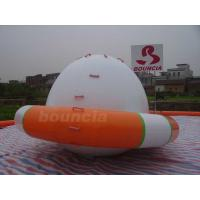 Quality 0.9mm PVC Tarpaulin UFO Shaped Inflatable Water Rocker For Water Sports wholesale