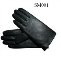 Quality Ladies sheep leather black gloves high quality at cheap price SM001 wholesale